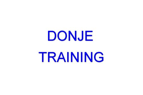 Donje Training